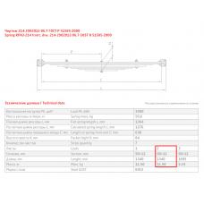 2 лист ресс Краз 214-2902076-05 с чашкой, 690000167