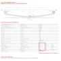 1 лист ресс FORD Transit 771503FD-2912101-10 зад, 690003570
