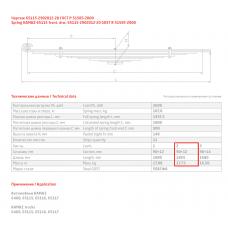2 лист ресс Камаз 65115-2902102-20/1 (Б), 690000022
