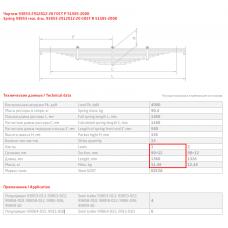 1/2 лист ресс прицеп 93853-2912101-20, 690000736