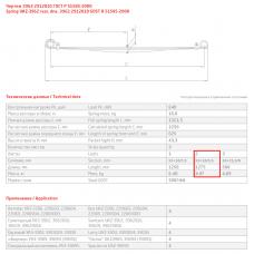 2 лист ресс УАЗ 3962-2912050 зад с/х, 690003588