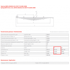 2 лист ресс прицеп 887Б-2902102, 690000382