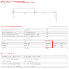 1 лист ресс УАЗ 3962-2912015 с/ш зад, 690004087