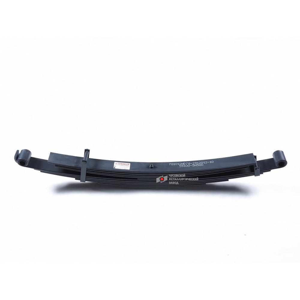 рессора Hyundai 701012HD78-2912012-10 зад 50хгфа, 690003790