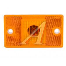 Фонарь габаритный оранжевый полуприцепа (24V, 65х115 мм) РУДЕНСК, 4422.3731