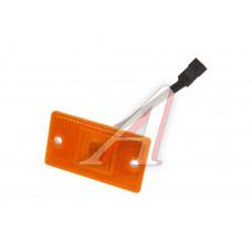 Фонарь габаритный оранжевый с проводом (светодиод, 24V, 65х115мм) РУДЕНСК, 4462.3731
