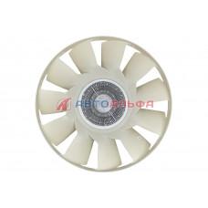 Вентилятор с вязкостной муфтой 020005338 (D=650 мм) КАМАЗ дв. Cummins 6ISBe Евро4 - BorgWarner, 020005338