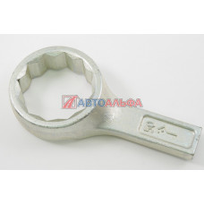 Ключ гаечный на 50 кольцевой односторонний коленчатый - КЗСМИ, ИК-0481