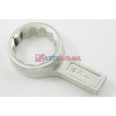 Ключ гаечный на 46 кольцевой односторонний коленчатый - КЗСМИ, ИК-048