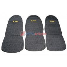 Чехол на сидения КАМАЗ Евро н/о (3 высок.) (гобелен) - Качество, 470