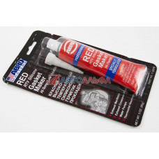 Герметик прокладок силиконовый высокотемпературный ABRO MASTERS красный (85 г.) - ABRO, 11-АВ-СН-RE-S