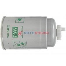 Фильтр топливный УАЗ, IVECO, КOMATSU, VOLVO - MANN+HUMMEL, WK 842/2