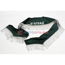 Ламбрекен лобового стекла + угол (зеленый) КАМАЗ - Альтернатива, 4591LAMА