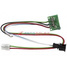 Блок регулирования скорости вентилятора отопителя ГАЗ 3302 н/о - Юнитекс, UT-8121500-05